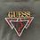 Thumbnail: Vintage Guess plaid logo sweatshirt size XL