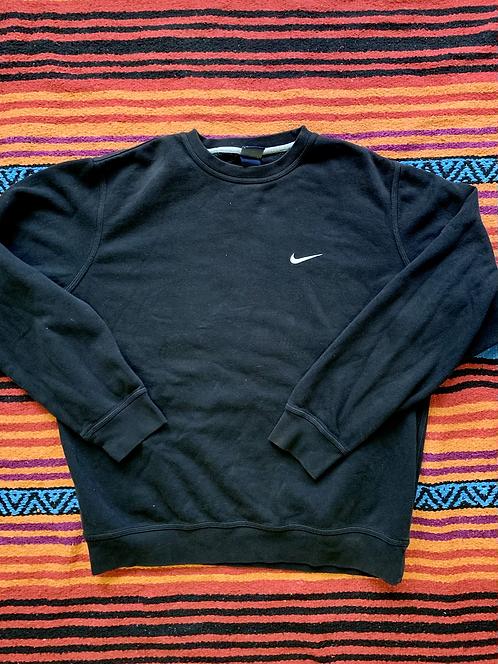 Vintage black Nike Swoosh crewneck sweatshirt size XL