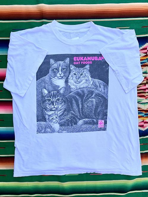 Vintage Iams Company Cat Food graphic t-shirt size XL