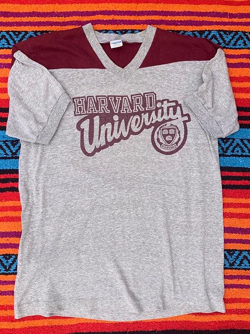 Vintage Harvard University Champion t shirt size Large