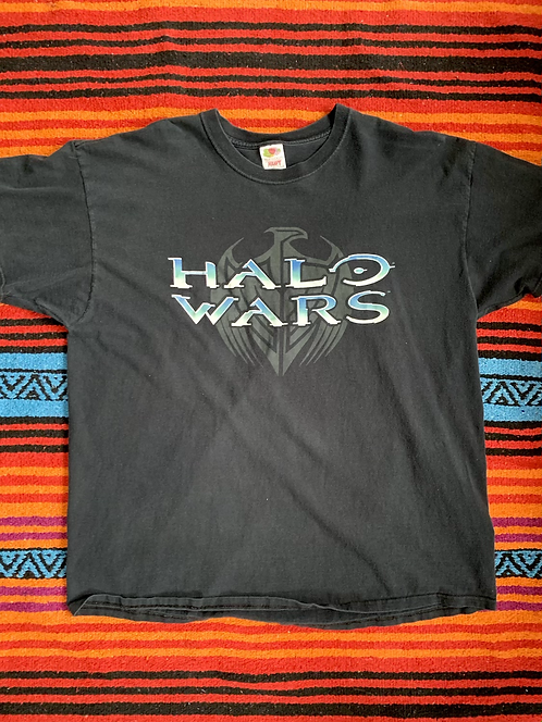 Vintage faded Halo Wars t shirt size 2XL