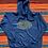 Thumbnail: Vintage Purdue University navy hoodie size XL