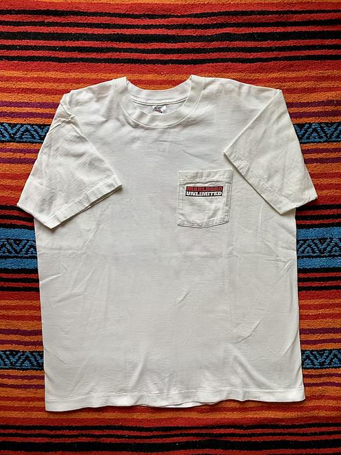 Vintage Marlboro Unlimited white t-shirt size XL