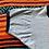 Thumbnail: Vintage Florida palm trees faded blue ringer t-shirt size small
