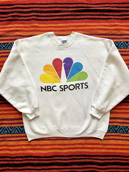 Vintage NBC Sports logo sweatshirt size large