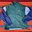 Thumbnail: Vintage Nike green color block windbreaker jacket size large