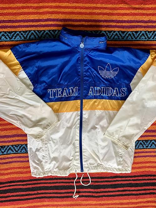 Vintage Team Adidas color-block windbreaker size large/XL