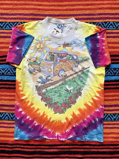 Vintage 1994 Grateful Dead Tour tie-dye t-shirt size large