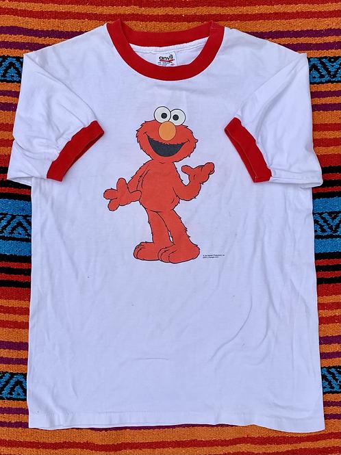 Vintage Sesame Street Elmo ringer t shirt size Medium