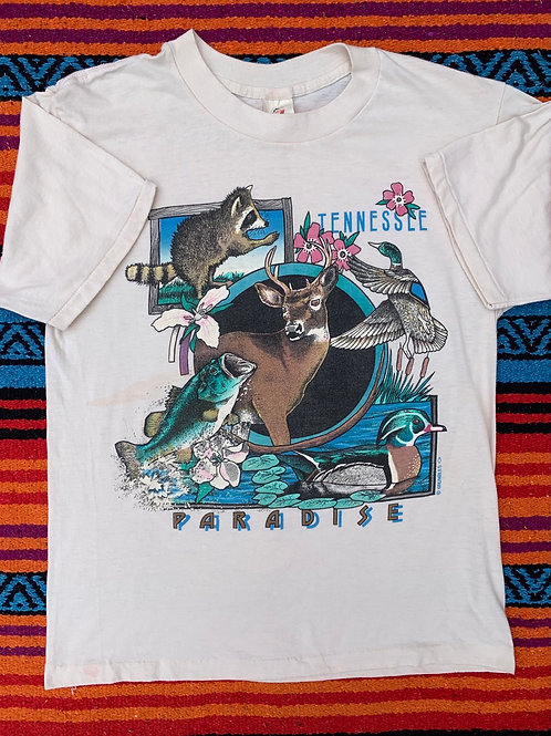 Vintage Tennessee Paradise T shirt size Large