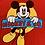 Thumbnail: Vintage Mickey Mouse & Co T shirt size Large/XL
