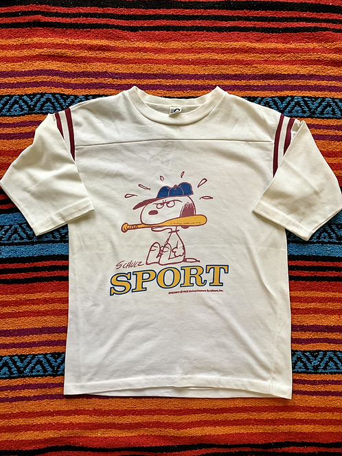 Vintage Peanuts Snoopy Sport t-shirt size small
