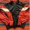 Thumbnail: Vintage New Balance red and black color block windbreaker jacket size medium