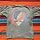 Thumbnail: Vintage 1992 Grateful Dead Crystal Rain faded gray tie-dye t-shirt size XL