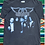 Thumbnail: Vintage 1997 Aerosmith Nine Lives World Tour black faded t-shirt size large