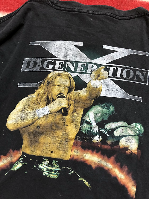 90s Degeneration-X rap tee XL