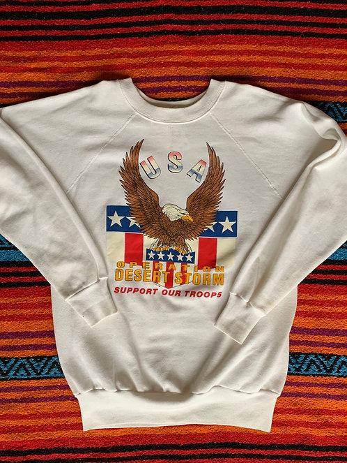 Vintage Operation Desert Storm sweatshirt size Large/XL