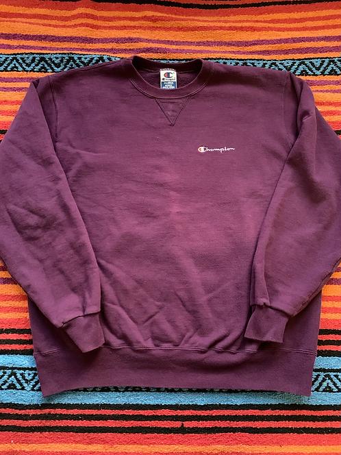 Vintage Purple Champion Sweatshirt XL
