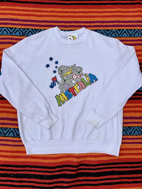 Vintage Australia koala sweatshirt size medium/large
