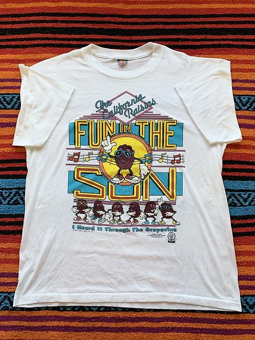 Vintage California Raisins Shirt Large