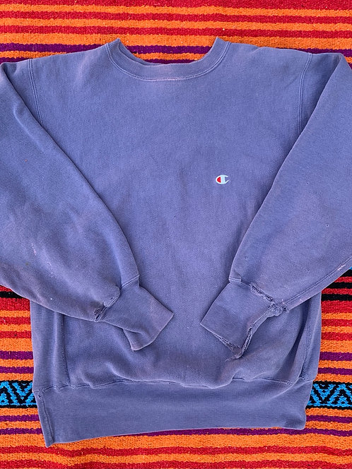 Vintage faded purple Reverse Weave Champion sweatshirt size Large
