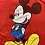 Thumbnail: Vintage Mickey Mouse red t-shirt size medium