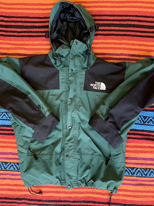 Vintage North Face forest green Gore-tex jacket size medium