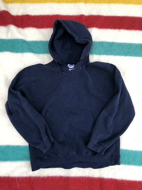Center check Nike hoodie large