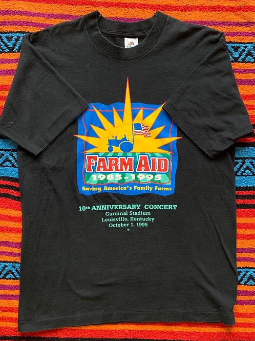 Vintage Farrm Aid Kentucky T shirt size Large