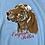 Thumbnail: Vintage light blue English Setter sweatshirt size large