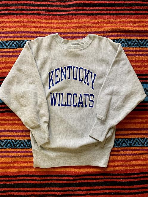 Vintage University of Kentucky Wildcats Champion Reverse Weave gray sweatshirt s