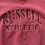 Thumbnail: Vintage Russell Athletics maroon and navy striped sweatshirt size large/XL