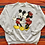 Thumbnail: Vintage Disney Mickey and Minnie Mouse sweatshirt size XL