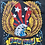 "Thumbnail: Vintage American Bald Eagle ""Born Wild"" black t-shirt with side pocket size larg"