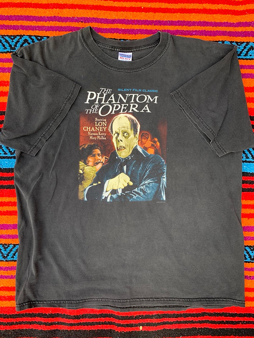 Vintage faded Phantom of the Opera T shirt size XL