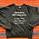 Thumbnail: Vintage funny song lyrics sweatshirt size large