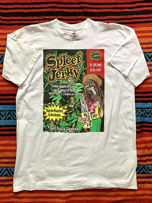 """Vintage 1995 Dog Eat Dog """"Spleef Jerky"""" t-shirt size XL"""