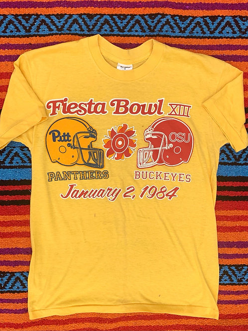 Vintage Fiesta Bowl 1984 Panthers Buckeyes T shirt size Small