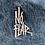 Thumbnail: Vintage No Fear denim varsity jacket size large