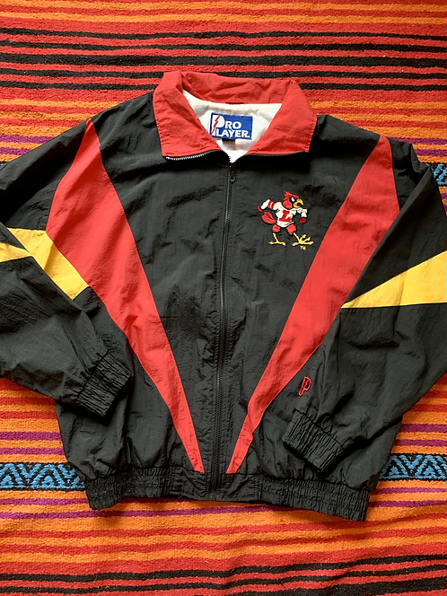 Vintage Louisville Cardinals color block windbreaker size XL