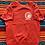 Thumbnail: Vintage Valley Cheerleading Pom-Pon Clinic short sleeve sweatshirt size medium