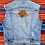Thumbnail: Vintage light wash Levi's Harley Davidson denim vest size Large/XL