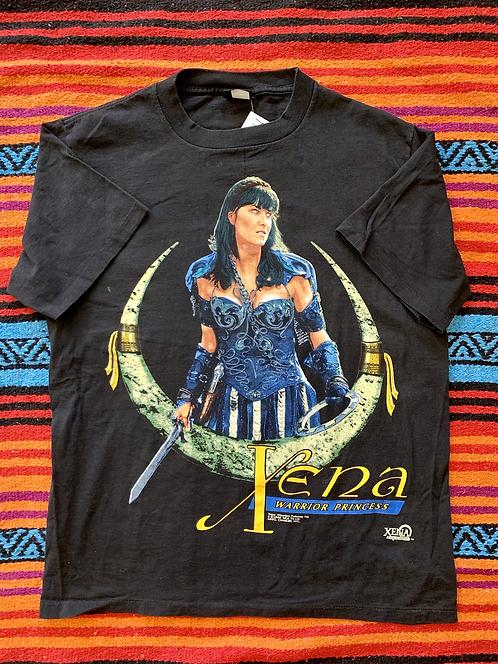 Vintage 1996 Xena Warrior Princess black t-shirt size large