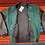 Thumbnail: Vintage Planet Hollywood Disneyland Paris green bomber jacket size large