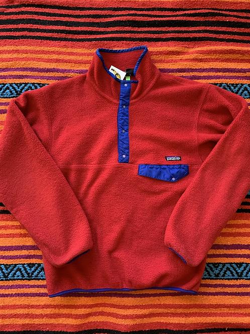Vintage Patagonia red fleece sweatshirt size medium/large