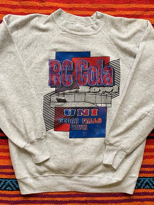 Vintage RC Cola Bowl crewneck sweatshirt size Small/Medium