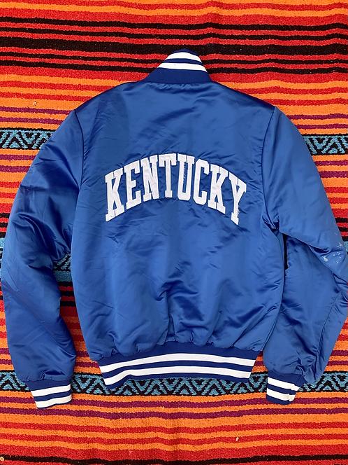 Vintage Champion Kentucky blue varsity jacket size small