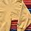 Thumbnail: Vintage Champion yellow sweatshirt size XXL