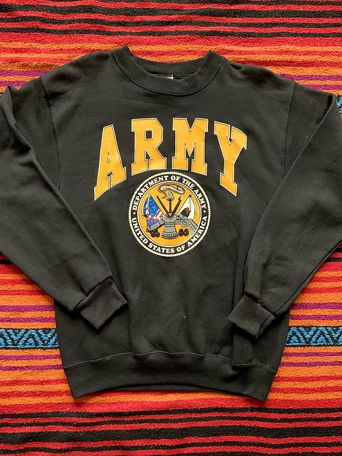 Vintage United States Army black sweatshirt size XL