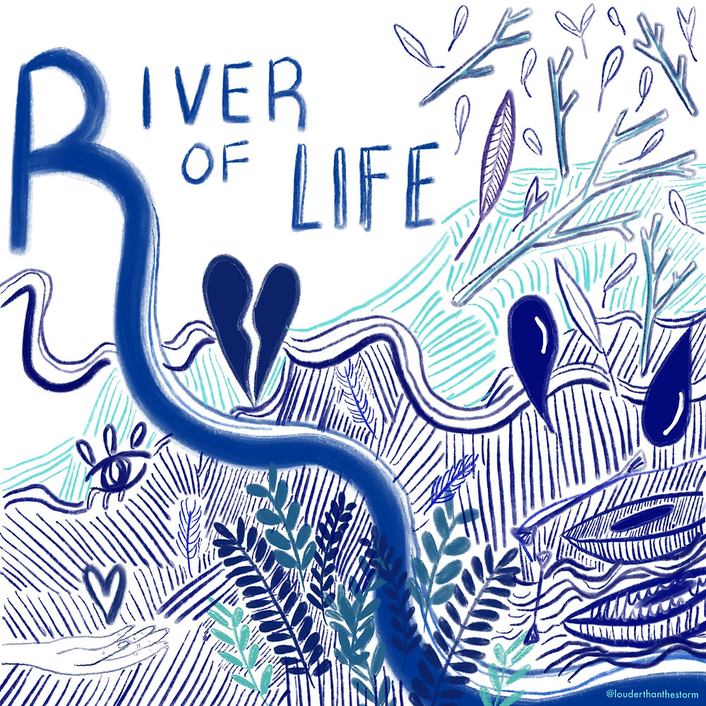 The River of Life - art by Aimée Lister